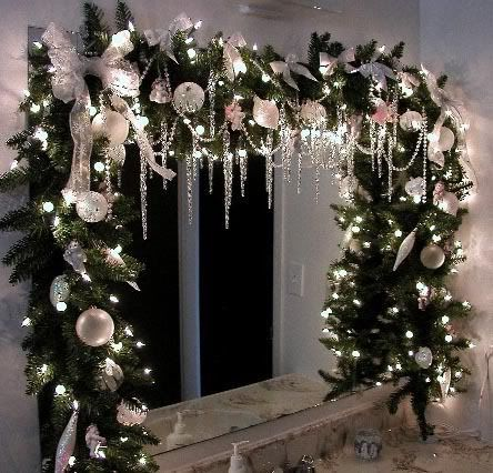 icicle christmas decorations