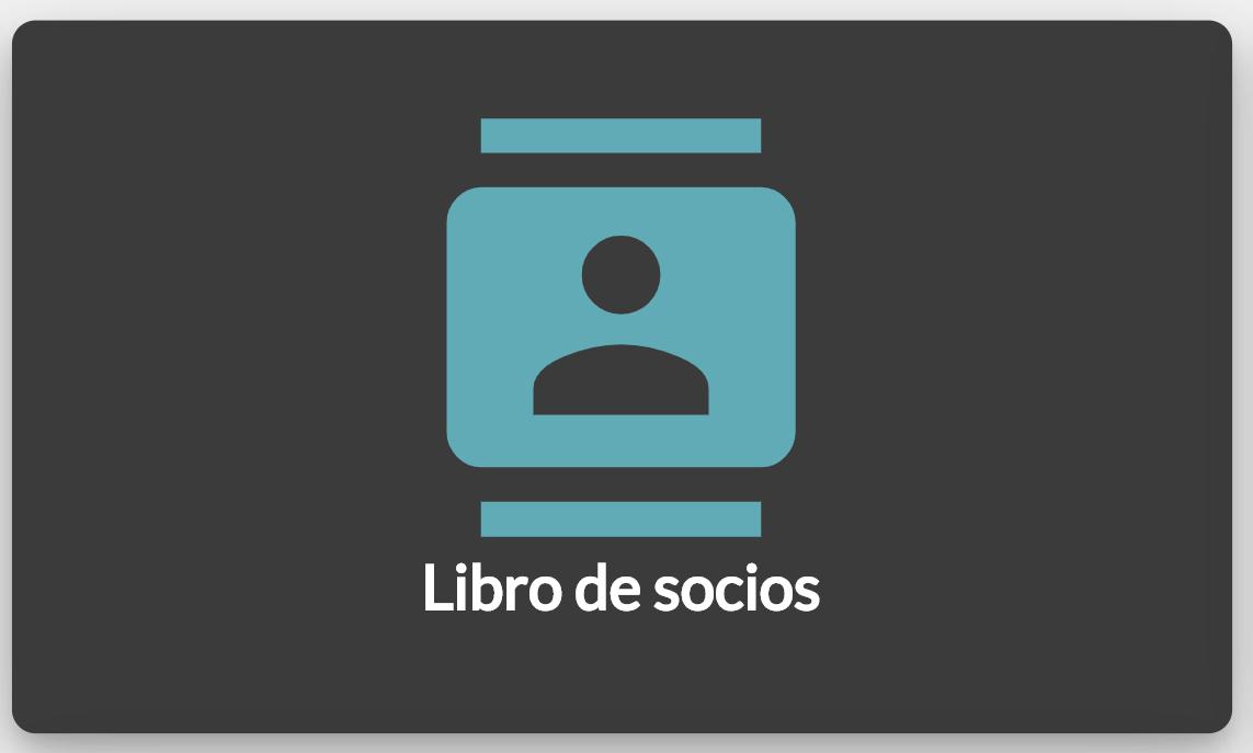Icono de acceso al Libro de Socios en Councilbox