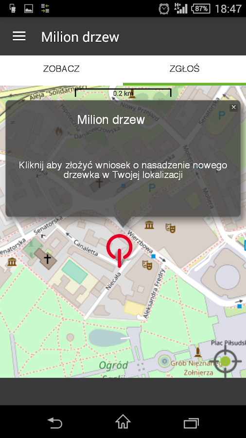 MILION DRZEW- screenshot
