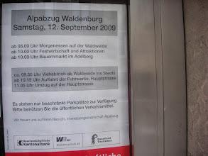 Photo: Informationsblatt