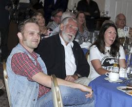 Photo: VFP-UK members Carl Hemming and Jim Radford with former board member Adrienne Knapp
