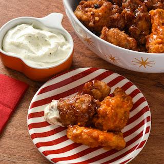 Savory Chicken with Three Ingredient Dip
