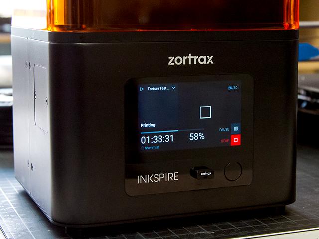Zortrax Inkspire UV LCD Fully Assembled 3D Printer