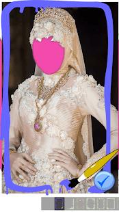 Hijab wedding photo frames 2017 - náhled
