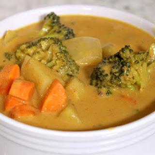 Vegan Thai Massaman Curry.