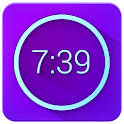 Neon Alarm Clock Free icon
