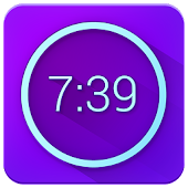 Neon Alarm Clock Free APK for Blackberry