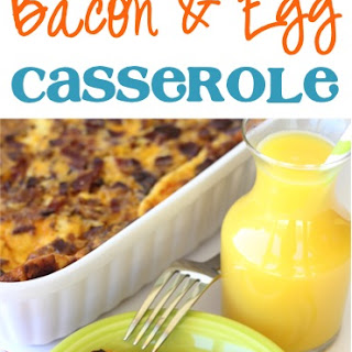 Overnight Breakfast Bacon and Egg Casserole Recipe!