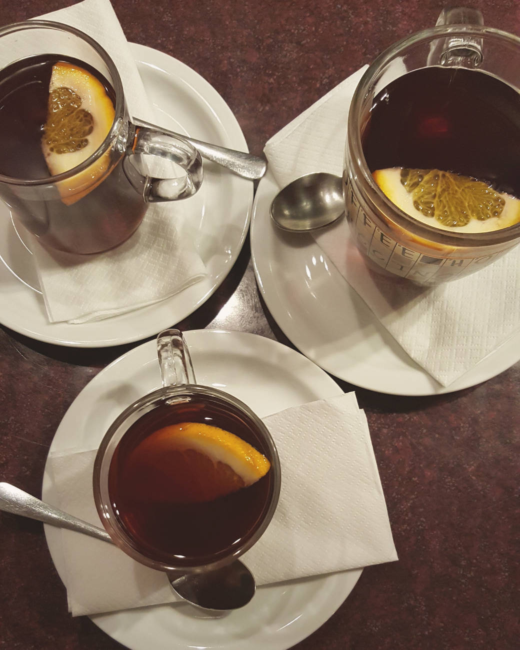 Some cafes will serve mulled wine during winter in Budapest!