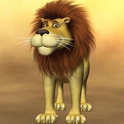 Talking Luis Lion Icon