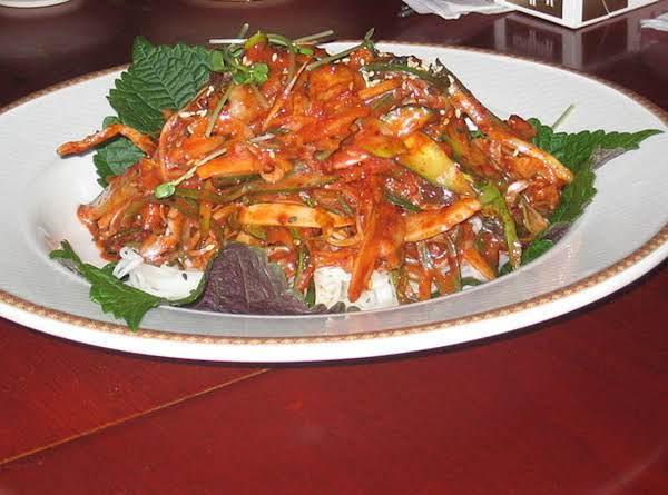 Sea Snail Muchim   (golbaengi Muchim) Recipe