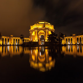 Palace of Fine Arts by Cory Marshall - Buildings & Architecture Public & Historical ( reflection, california, san francisco, palace of fine arts )