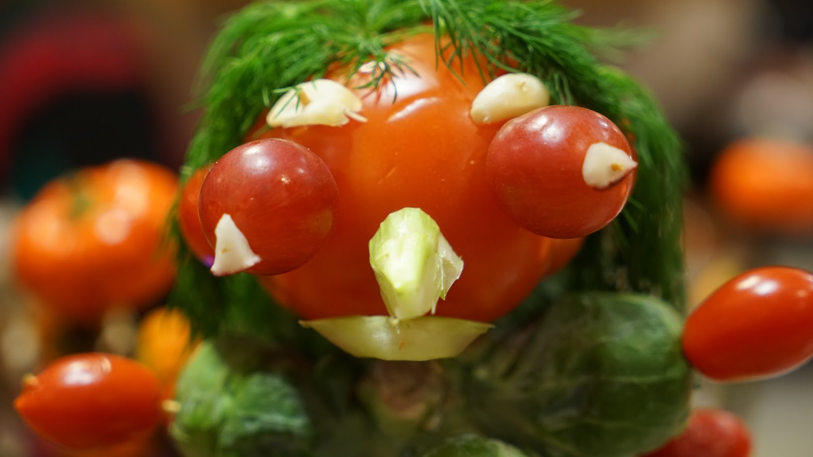 Happy Halloween - Scary Tomatoes Come Alive