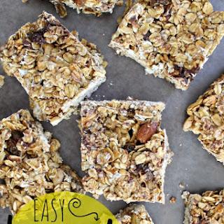 Easy Homemade Granola Bars {recipe}.