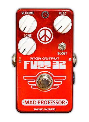 Mad Professor Fuzz32 Red Limited Germanium Fuzz