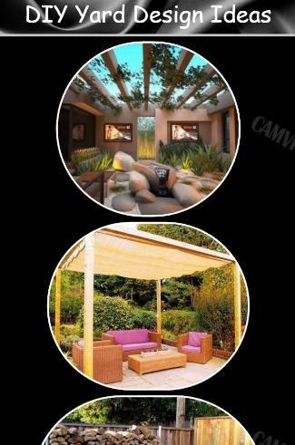 DIYの庭のデザインのアイデア