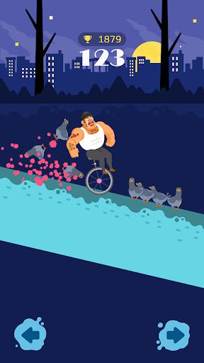Unicycle Downhill screenshot 2