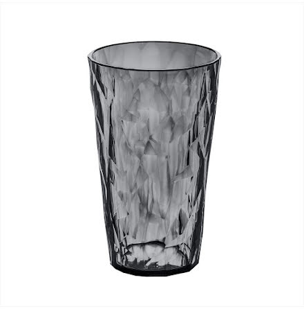 CRYSTAL 2.0 L, Högt dricksglas 6-pack transparent grey