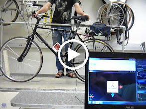 Video: The VectorNav on a treadmill. The treadmill and bike motors don't seem to affect the magatometer readings.