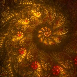Spiral 2 by Cassy 67 - Illustration Abstract & Patterns ( swirl, digital art, fractal art, wallpaper, swirls, spiral, fractal )