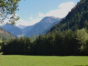 Photo: Net onder Winklern, uitzicht op het Mölldal.