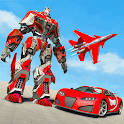 Real Air Jet Fighter - Grand Robot Shooting Games icon