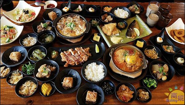 台中日式定食吃到飽。日式和食套餐附餐小菜吃到飽。遇見和食興大店。CP值超高