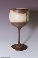 """Photo: Clif Poodry - Goblet - walnut - 8"""" x 3"""""""