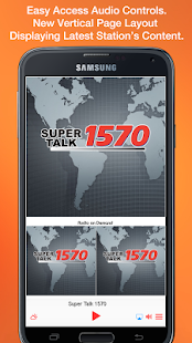 Super Talk 1570- screenshot thumbnail