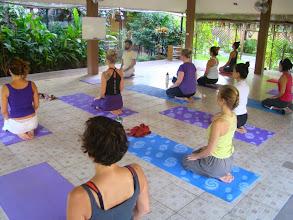 Photo: Morning practices of Meditative Asana - Vajrasana