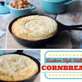 Southern Style Skillet Cornbread