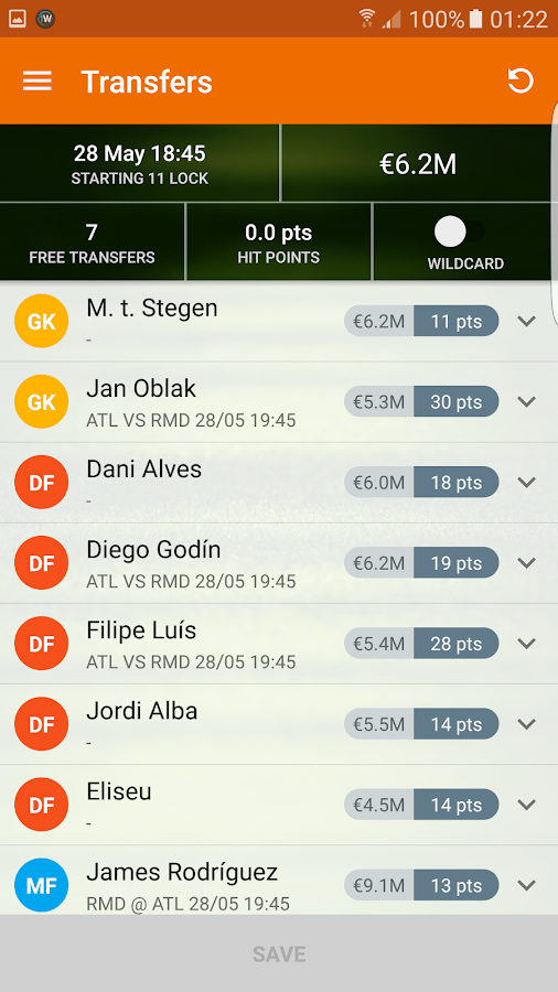 RealFevr Fantasy Leagues- screenshot