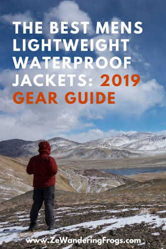 The Best Mens Lightweight Waterproof Jackets // 2019 Gear Guide