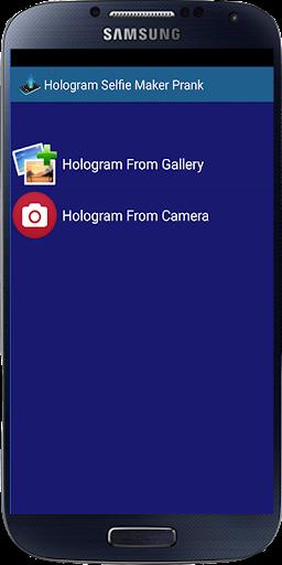 Hologram Selfie Maker Prank