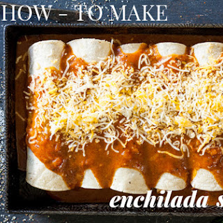 How To Make Homemade Enchilada Sauce