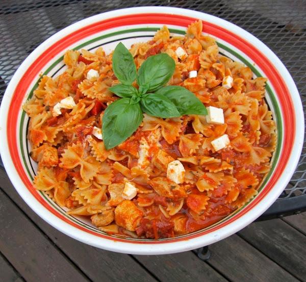Three Tomato Pasta Recipe
