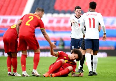 Ligue des Nations: battue en Angleterre, la Belgique cède la première place de son groupe