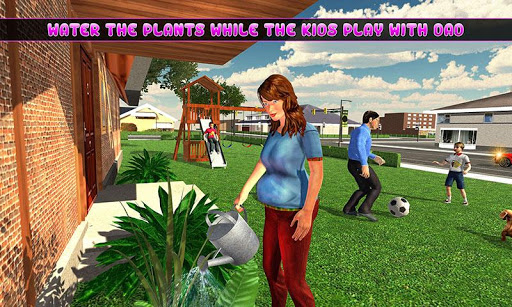 Pregnant Mom Baby Happy Home apkpoly screenshots 2