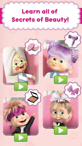 Masha and the Bear: Hair Salon and MakeUp Games 1.0.14 Cheat screenshots 2