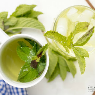 Fresh Mint Tea.