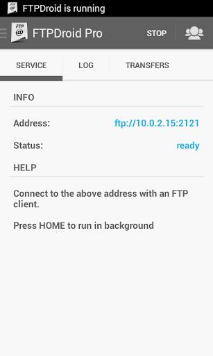 FTPDroid 2.1.2 screenshots 2