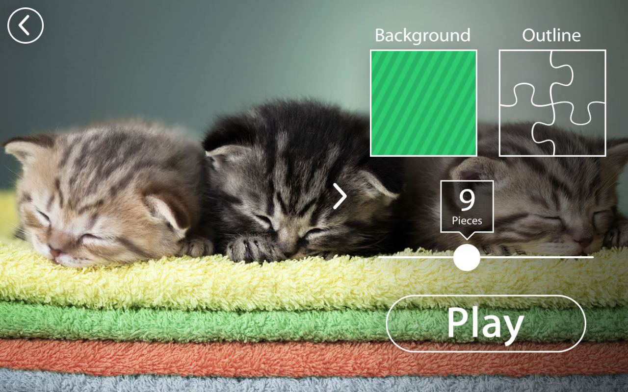 Kittens Jigsaw Puzzle for Kids Easy Puzzle Games- screenshot