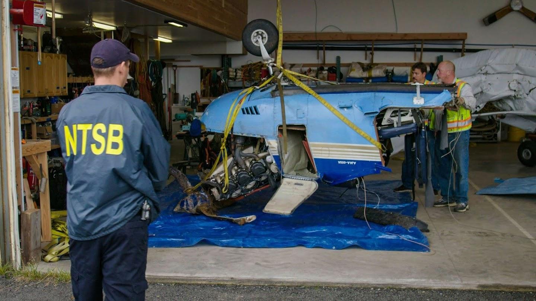 Watch Alaska Aircrash Investigations live