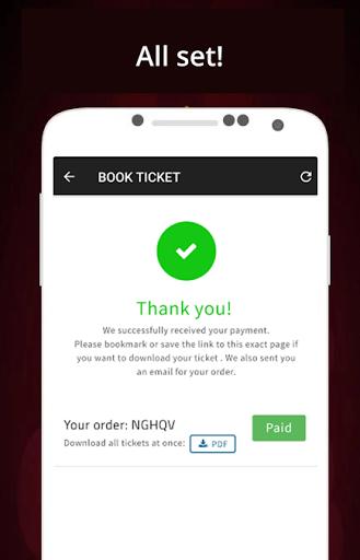 TixDo - Book event tickets screenshot 2