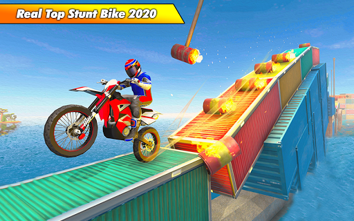 Bike Stunt Racing 3D - Free Games 2020 1.2 Paidproapk.com 3