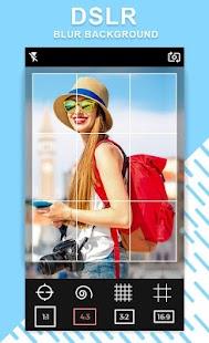 DSLR Camera Blur Background Editor - náhled