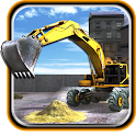 Sand Excavator Transport Sim icon