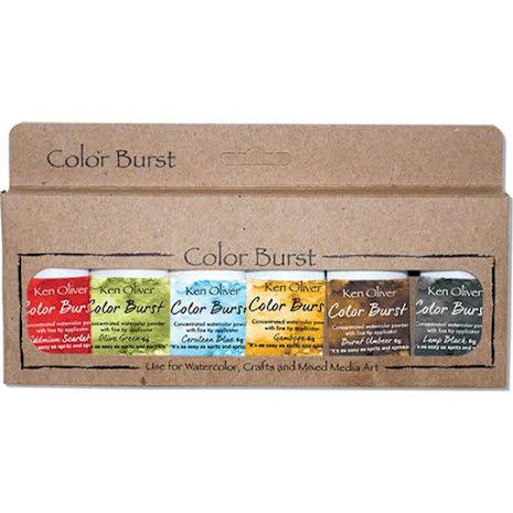 Ken Oliver Color Burst Powder 6/Pkg - Moroccan