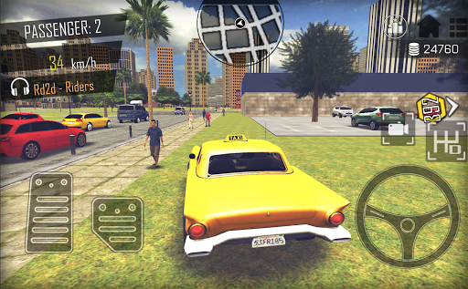 Crazy Open World Driver - Taxi Simulator New Game 3.3 screenshots 5