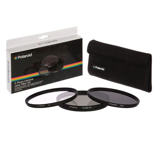 Polaroid Filter Kit UV MC, CPL, ND9 55MM
